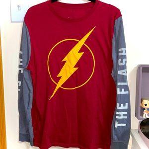 DC's The Flash Long Sleeve Tee